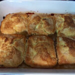 Bev Shaffer - Commitment and Peach Dumplings - Peach Dumplings Baked