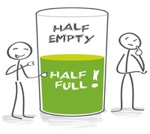 Bev Shaffer - Observations - Glass Half Empty or Half Full