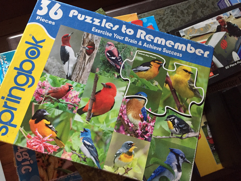Bev Shaffer - Life Measured by Puzzle Pieces - Bird Puzzle