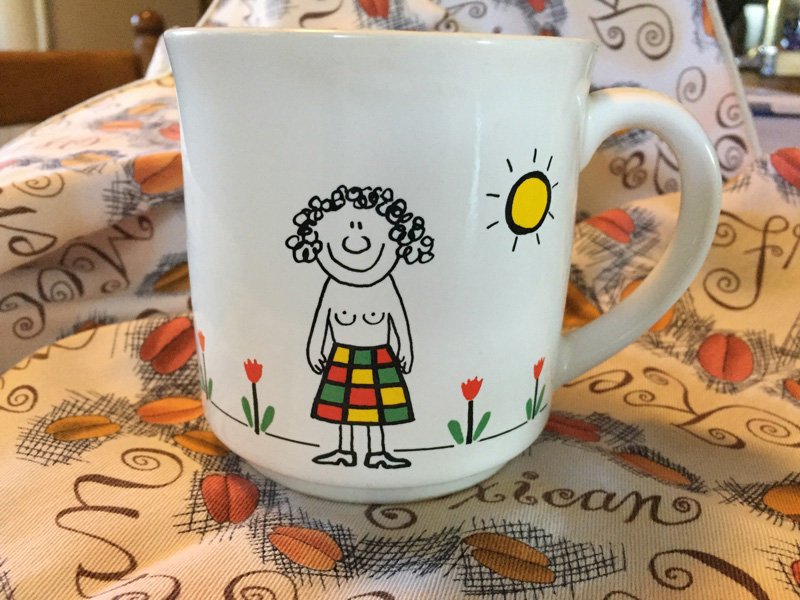 Bev Shaffer - When It's Been A Stressful Week - Halfway Decent Mug Front
