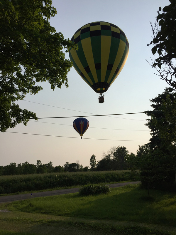 Bev Shaffer - When It's Been A Stressful Week - Duo of Hot Air Balloons